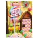 "NEW HOME CARD  ""SWEETIE HOUSE DESIGN"" SIZE 8"" x 5.75"" IOHI 0126"
